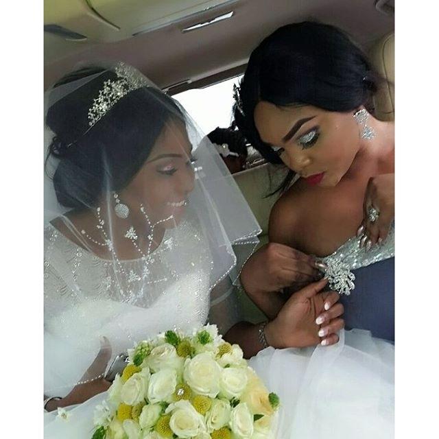 Lilian Esoro & Ubi Franklin White Wedding 12