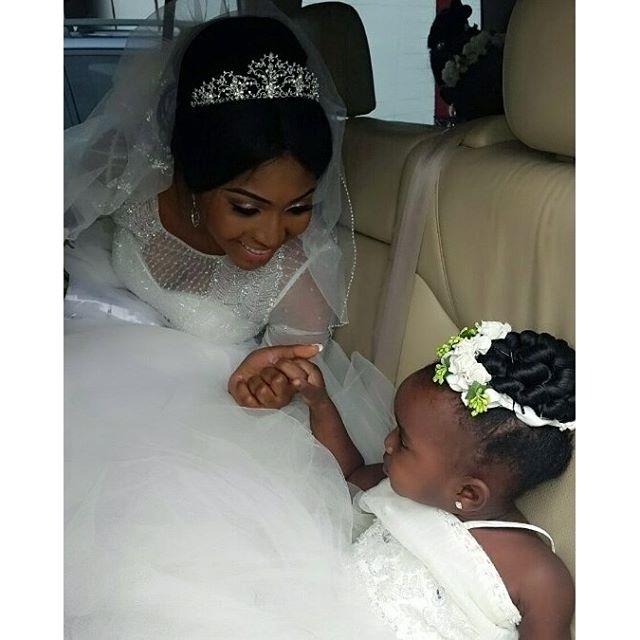Lilian Esoro & Ubi Franklin White Wedding 13