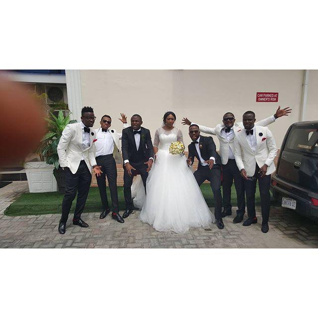 Lilian Esoro & Ubi Franklin White Wedding 19