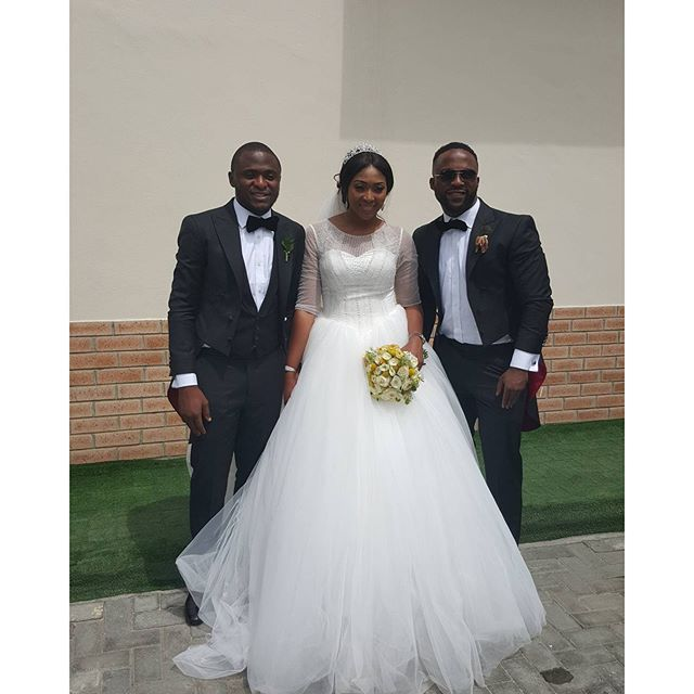 Lilian Esoro Ubi Franklin White Wedding 20