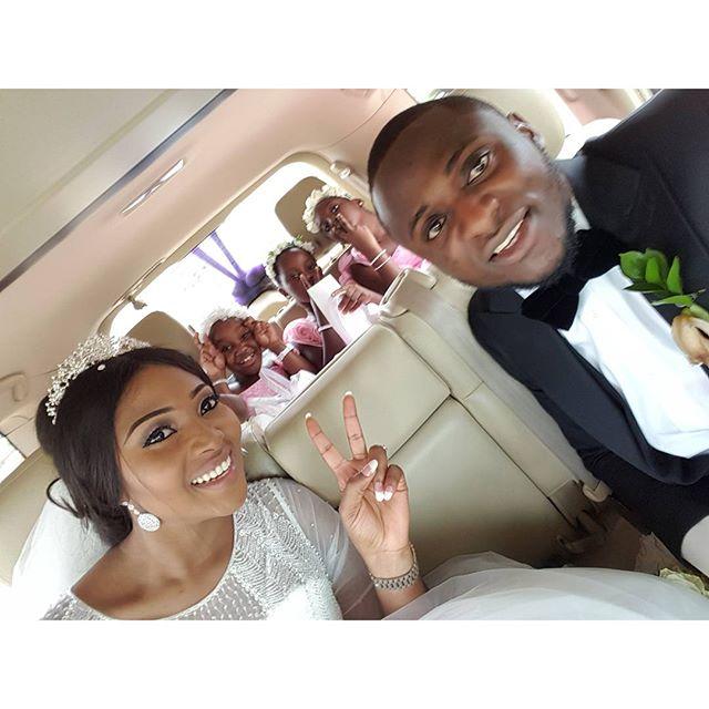 Lilian Esoro & Ubi Franklin White Wedding 21