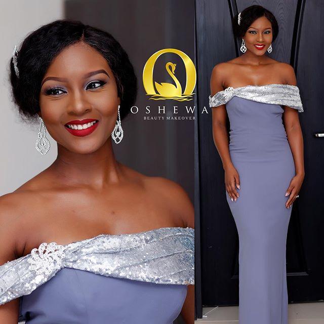 Lilian Esoro & Ubi Franklin White Wedding 22