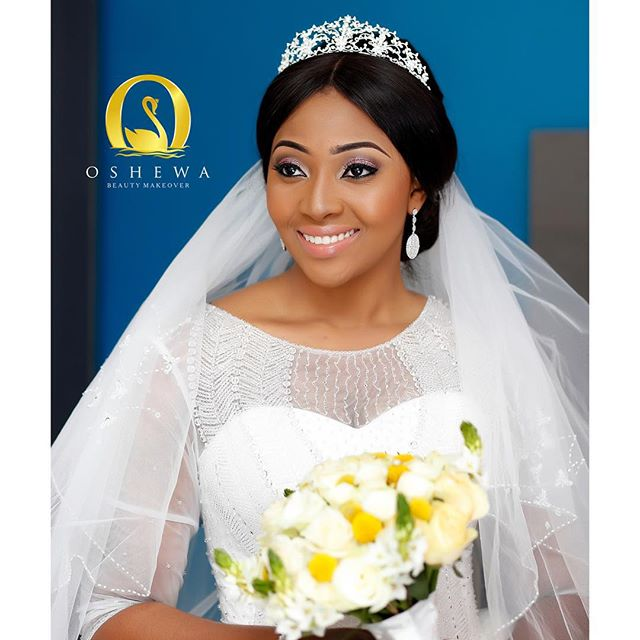 Lilian Esoro & Ubi Franklin White Wedding 23