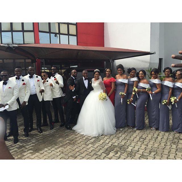Lilian Esoro & Ubi Franklin White Wedding 24
