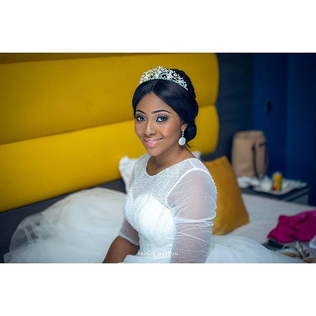 Lilian Esoro & Ubi Franklin White Wedding 26