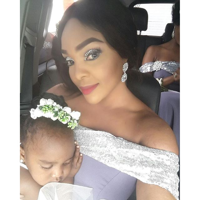 Lilian Esoro & Ubi Franklin White Wedding 3