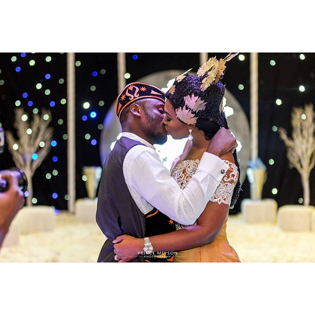 Lilian Esoro & Ubi Franklin White Wedding 32