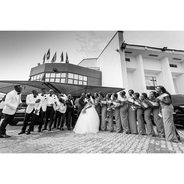 Lilian Esoro & Ubi Franklin White Wedding 34