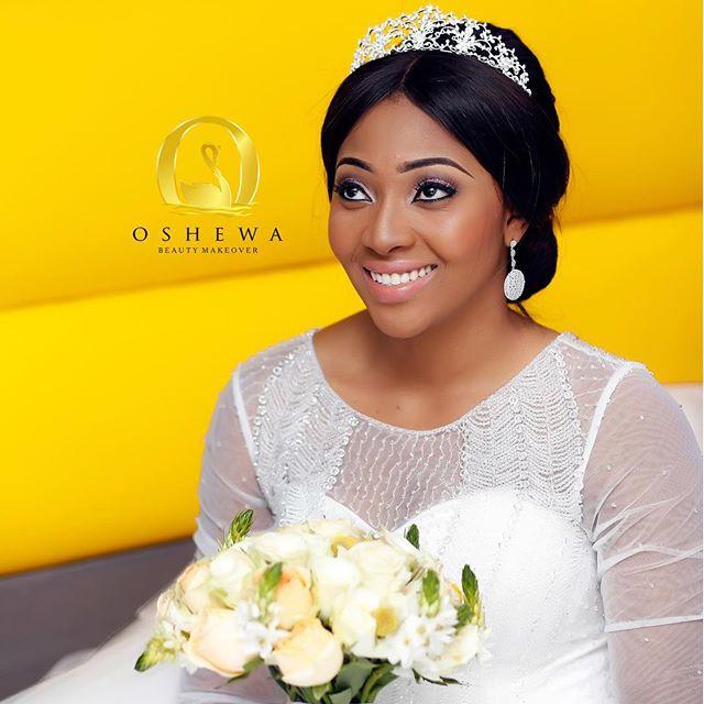 Lilian Esoro & Ubi Franklin White Wedding 36