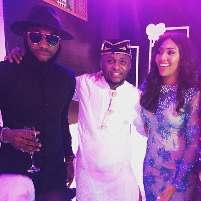 Lilian Esoro & Ubi Franklin White Wedding 39