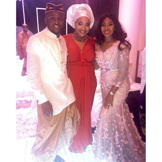 Lilian Esoro & Ubi Franklin White Wedding 44