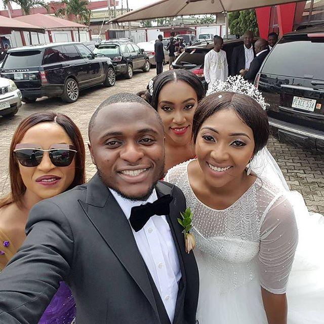Lilian Esoro & Ubi Franklin White Wedding 9