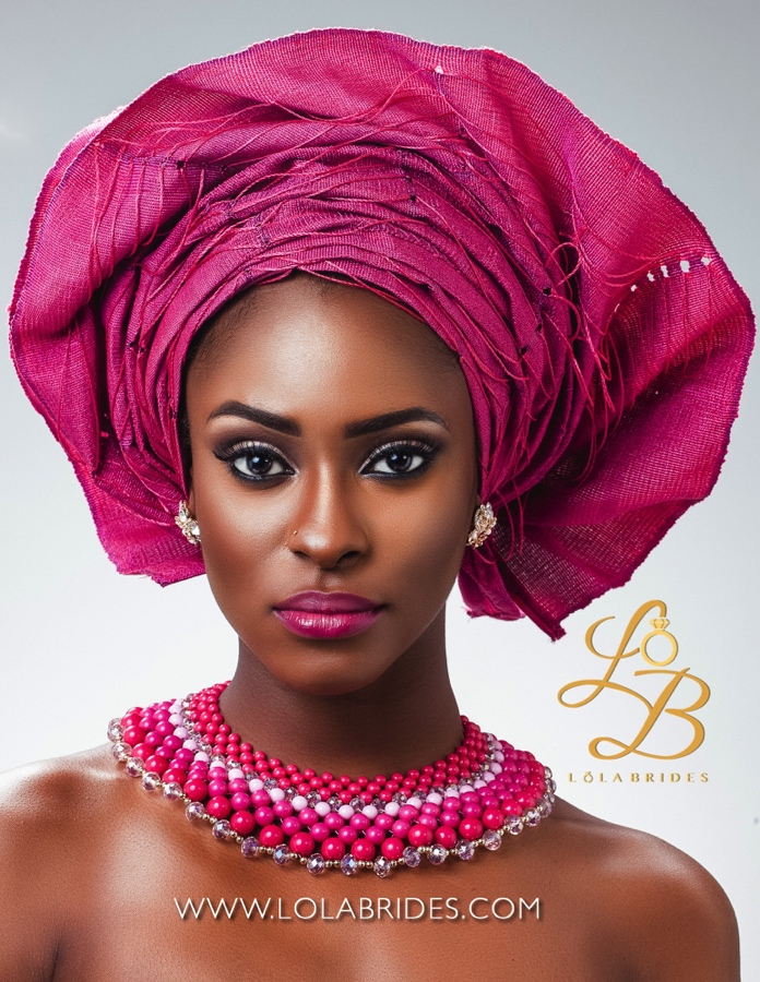 Lola Brides_NikkiPink_1_on BellaNaija Weddings 2015 - Nigerian brides