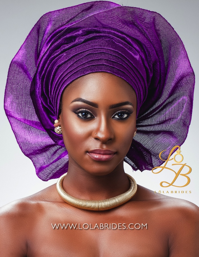 Lola Brides_NikkiPurple_2_on BellaNaija Weddings 2015 - Nigerian brides