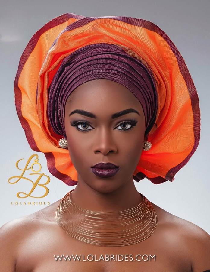 Lola Brides_ToyeinOmbre_2_on BellaNaija Weddings 2015 - Nigerian brides