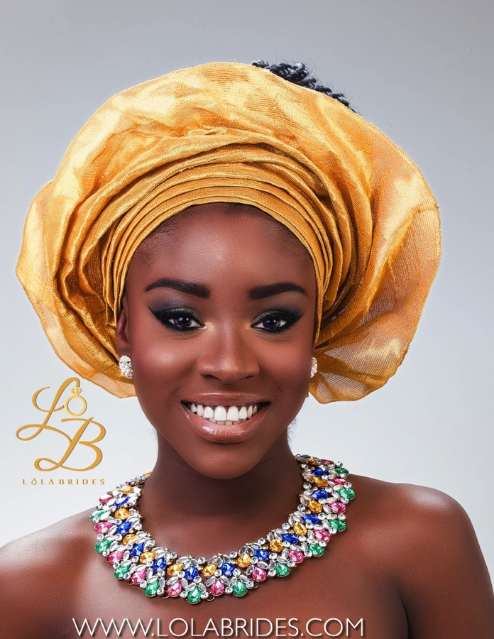 Lola Brides_YvonneGold_2_on BellaNaija Weddings 2015 - Nigerian brides