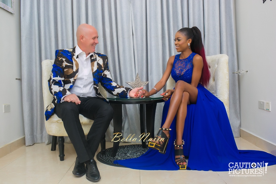 Mariam Adeyemi & John Timmer Pre-Wedding Photos on BellaNaija Weddings 2015_