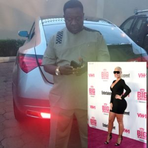 Mr Ibu - John Okafor and Amber Rose - 2015