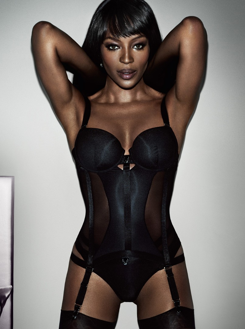Naomi Campbell for Yamamay Lingerie Collaboration - BellaNaija - November 2015