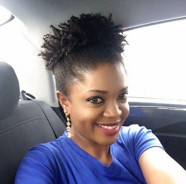 Bn Beauty Get Inspired 10 Natural Hair Ideas From Omoni Oboli Bellanaija