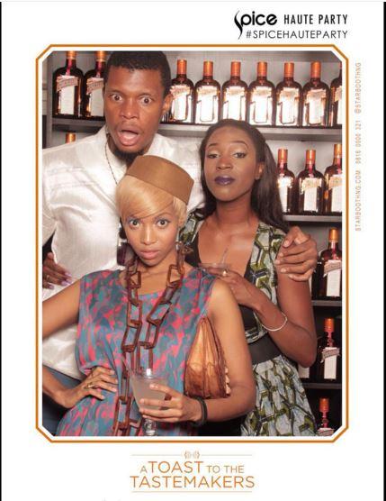 Remi Adetiba, Hauwa Mukan & Temi Dollface