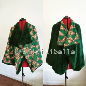BN Do It Yourself: Make Your Own Statement Piece! FelicitiBelle Shows How to Make a Reversible Fur-Ankara Cape | Watch