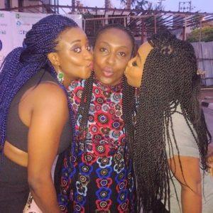 Rita Dominic & Ini Edo kissing Ego Boyo
