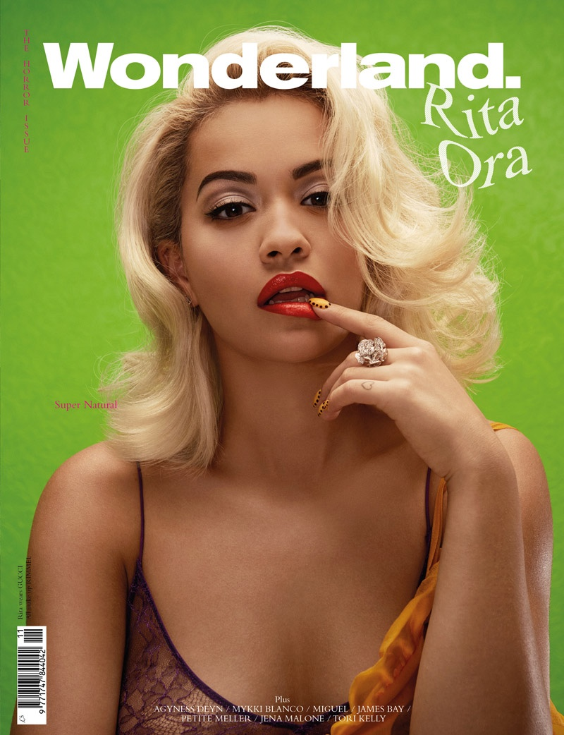 Rita Ora for Wonderland Magazine - BellaNaija - November 2015001