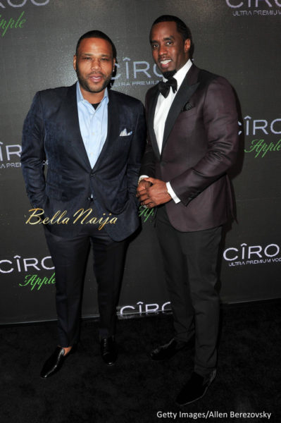 Anthony Anderson & Sean Combs