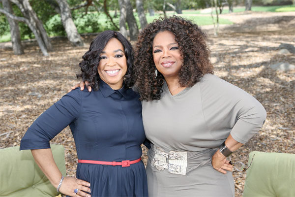 Shonda Rhimes & Oprah Winfrey