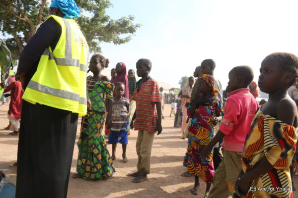 Some children at the IDP Camp, Yola