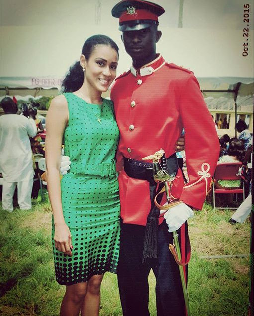 Sonia Ibrahim and Fiance_BellaNaija 1