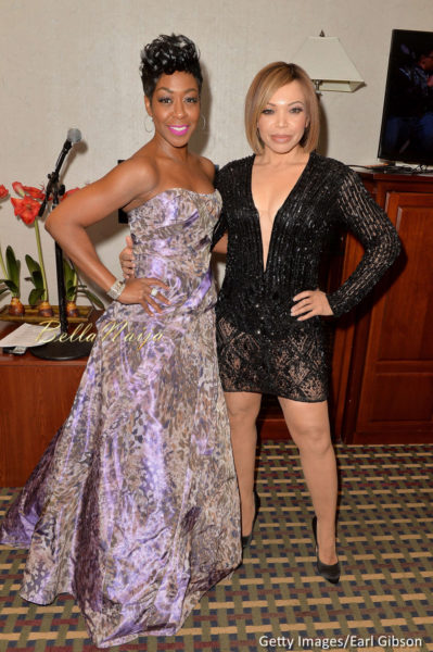 Tichina Arnold (L) and Tisha Campbell-Martin