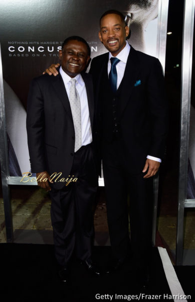 Dr. Bennet Omalu & Will Smith