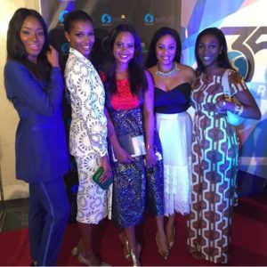 Sylvia Nduka, Agbani Darego, Omowunmi Akinnifesi, Munachi Abi & Hauwa Mukan