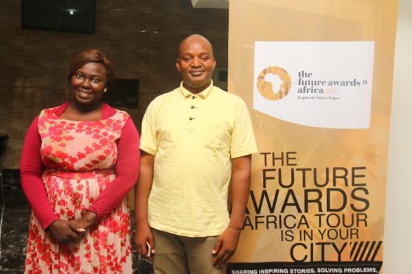 TFAA Team manager Bukonla Adebakin with Mr Wazini of CCEPI -Yola Hub