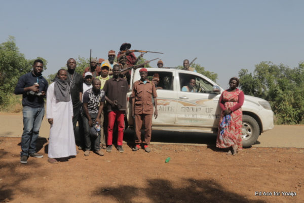 TFAA Team with the vigilante group who won the war with the soldiers