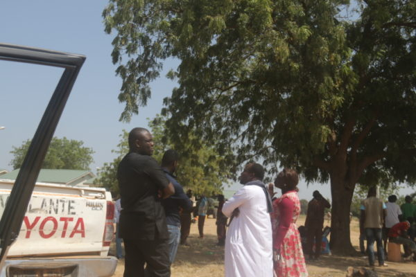 Team awaiting response from the army before going in to Chibok