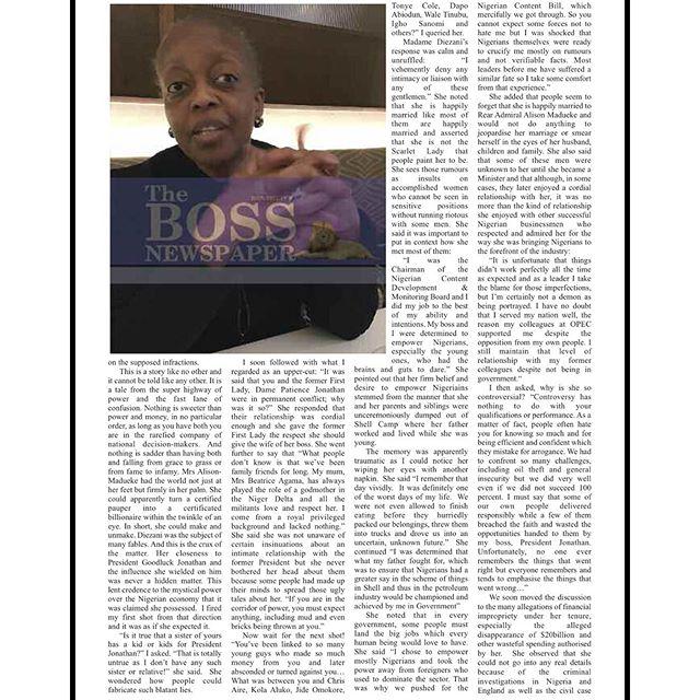 The Boss Diezani 5