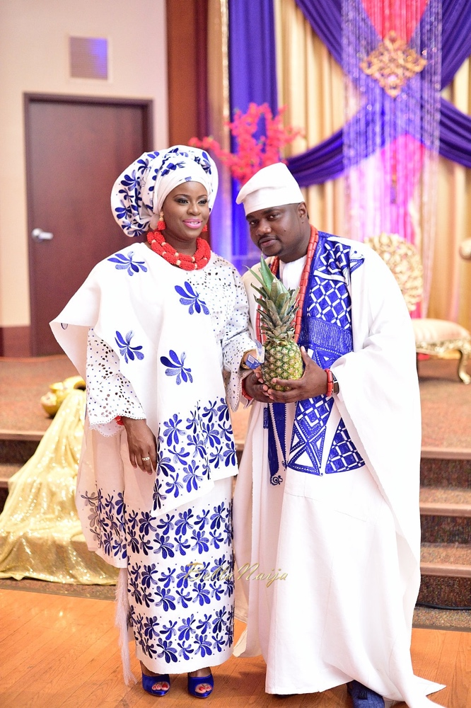 #TobiTeyeNoni_Nigerian Wedding in DMV_BellaNaija Weddings 2015_TobiTeyeTrad_418
