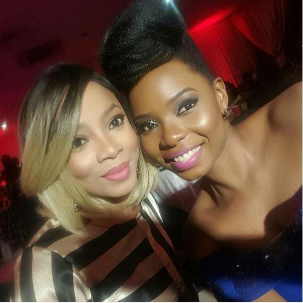 Toke Makinwa & Yemi Alade