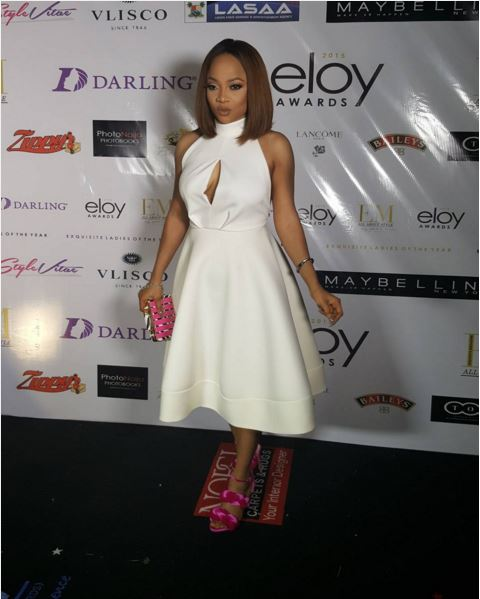 Toke Makinwa in Asos