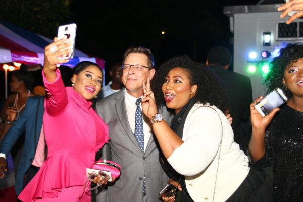 Toyin Lawani, Jon Bray and Latasha Ngwube