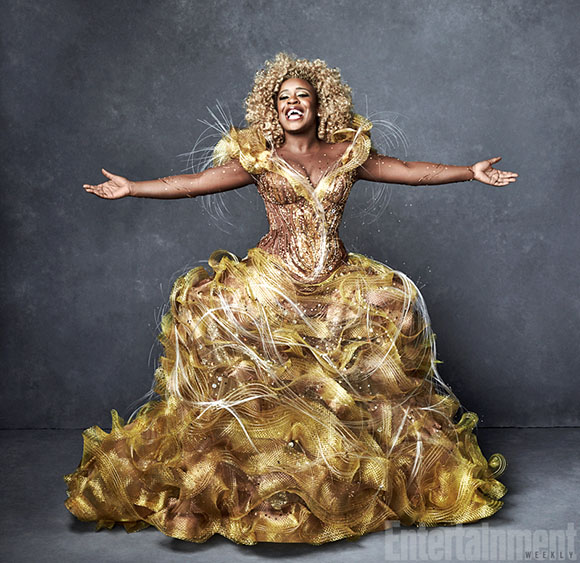 Uzo Aduba as Glinda, The Good Witch