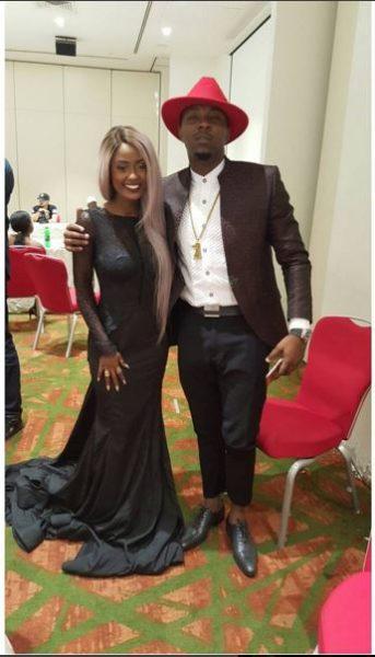 Vanessa Mdee & Stanley Enow