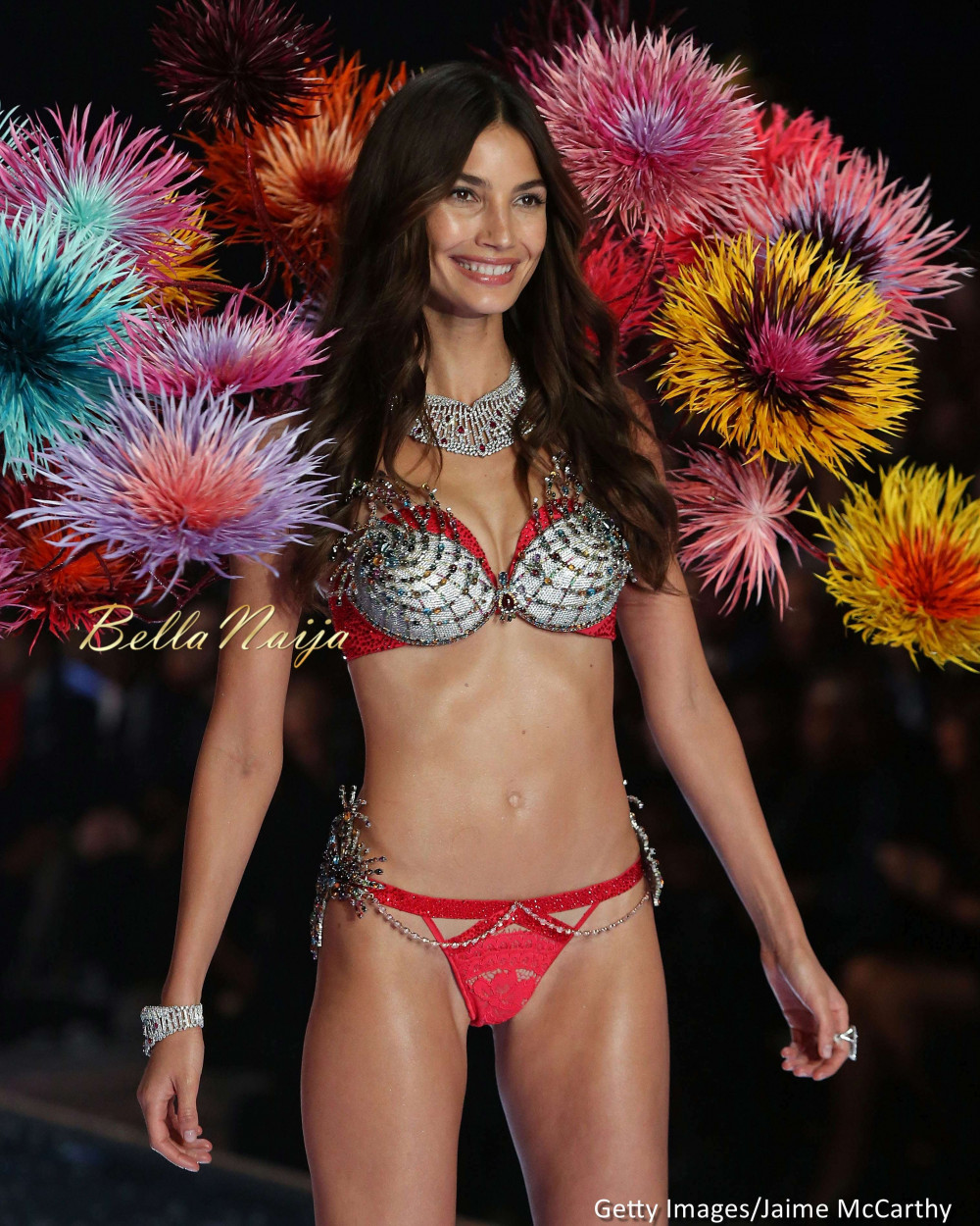 A 2 Million Fantasy Bra The World 39 S Most Stunning Models At The 2015 Victoria 39 S Secret