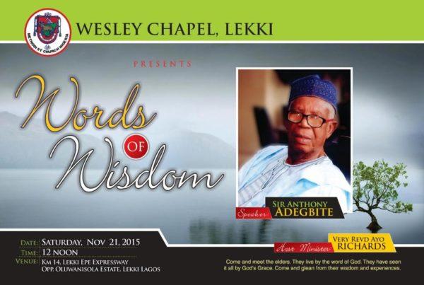 Wesley Chapel Lekki