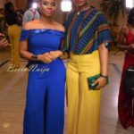 Yemi Alade and Seyi Banigbe Creative Director Bland2Glam