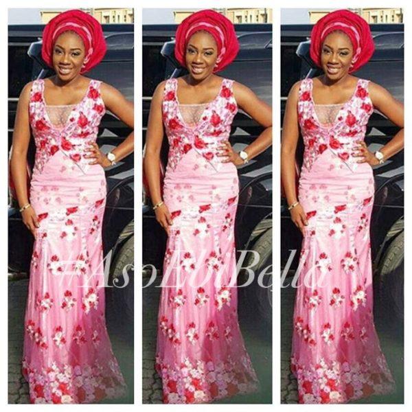 dress by @kathyanthony, fabric by @fabricsbykiba