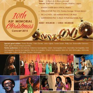 10th Anniversary ASF Concert